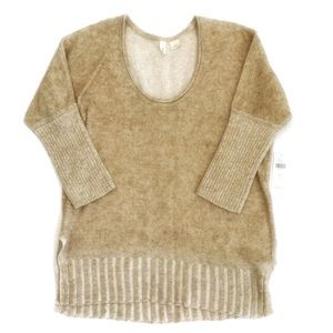 Anthropologie Moth Deep Scoop Pullover sweater